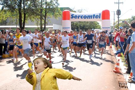 Run, fat Forrest, Run...